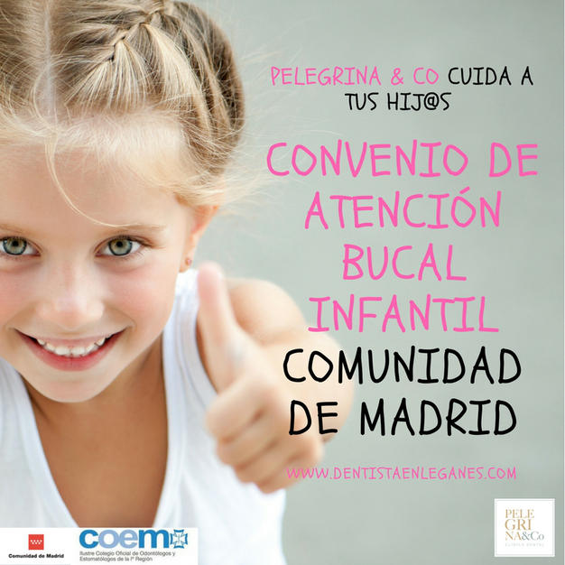 Convenio de atención bucodental infantil Comunidad de Madrid