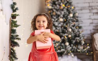 caries en niños en Navidad